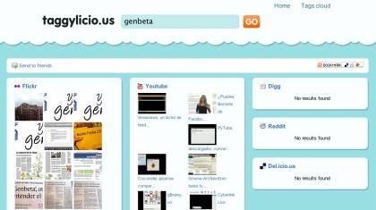 Taggylicio.us, busca contenidos que estén bajo determinadas etiquetas