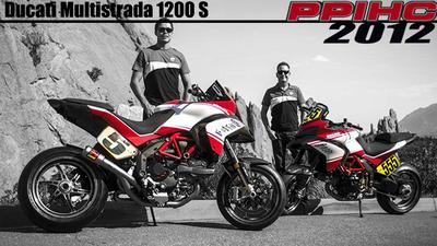 Pikes Peak 2012: la Ducati Multistrada 1200 S Pikes Peak, mucho más que pata negra