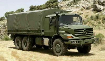 Mercedes-Benz Zetros: el señor de la guerra