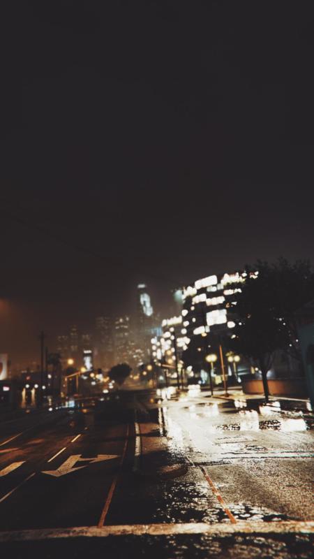 GTA V noche