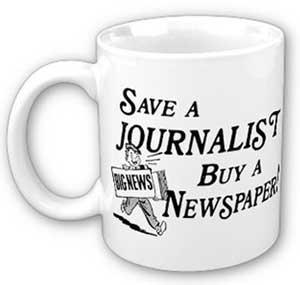 Taza al rescate del periodismo