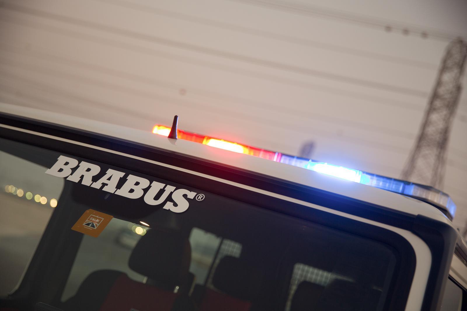 Foto de Brabus B63S–700 Widestar Policía Dubái (17/30)
