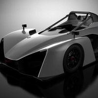 Se llama Revolution y es un biplaza de carreras para circuito, de 675 kilos y con motor 3.7 litros V6 de Ford
