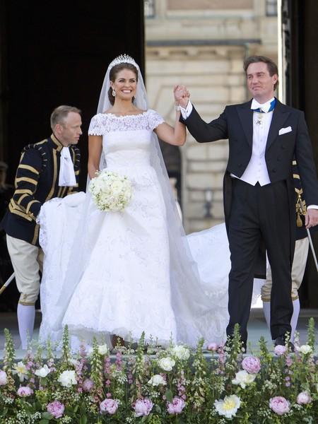 Princess Madeleine Of Sweden And Christopher