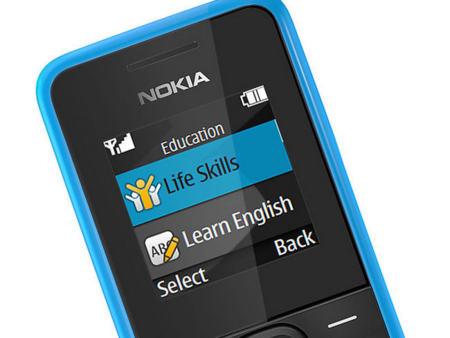 Nokia 105, pantalla