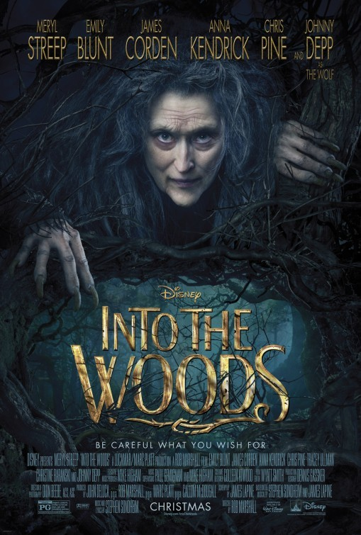 'Into the Woods', carteles