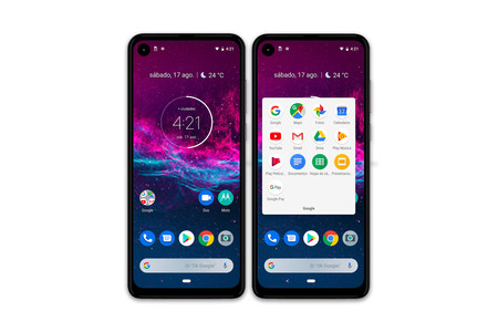 Motorola One Action Escritorio