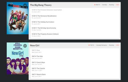 Entérate cuando hay episodios nuevos de tus series favoritas y bájalos con esta extensión para Chrome