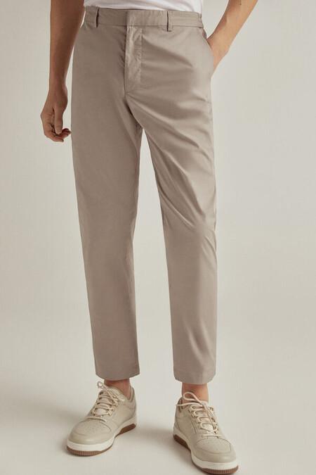 Pantalon Ligero Tecnico Cinturilla Elastica Slim