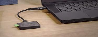 Pon a salvo tus datos con el disco duro Seagate Ultra Touch SSD de 1 TB, más barato que nunca en Amazon: 141,99 euros