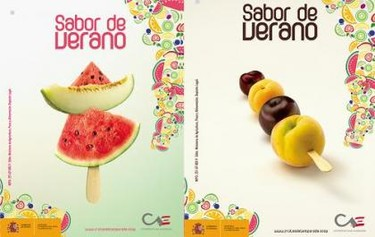Sabor de Verano, campaña promocional para el consumo de fruta de temporada