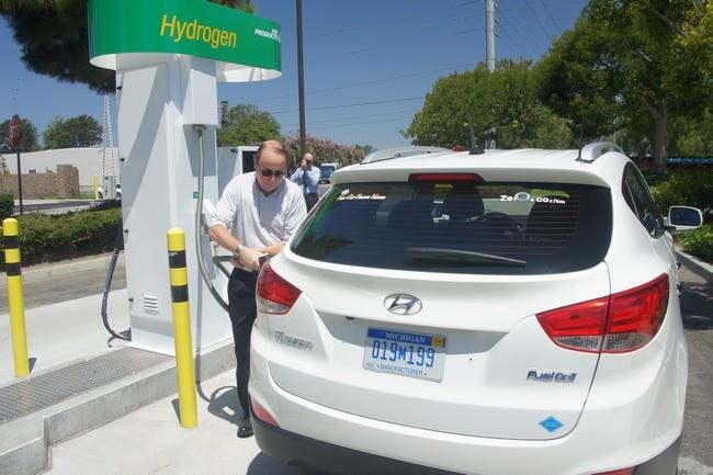 California Estaciones Hidrogeno Problemas Suministro