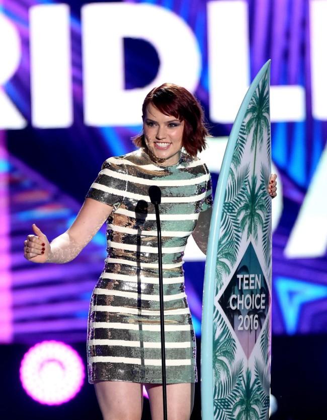 Daisy Ridley Teen Choice Awards