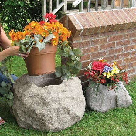 Macetas de piedra para el jardín