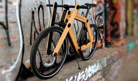 Sandwichbike, la bici de madera que te montas tú mismo