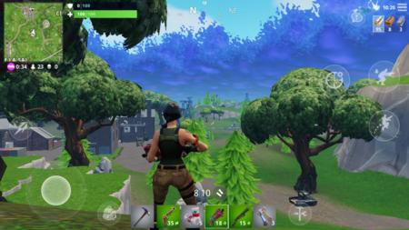 Hemos jugado a Fortnite: Battle Royale en móviles, la jugada maestra de Epic Games