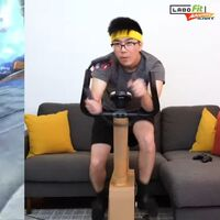 Labo Fit Adventure Kart: esta es la locura que ha creado un jugador para ponerse en forma con los títulos de Nintendo