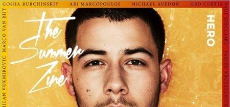 ¡Nos encanta Nick Jonas en la portada de la revista Hero!