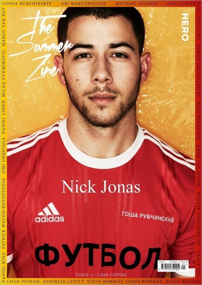 Nick Jonas 2017 Hero Cover