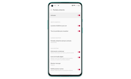 Oneplus 8t 02 Pantalla Ambiente
