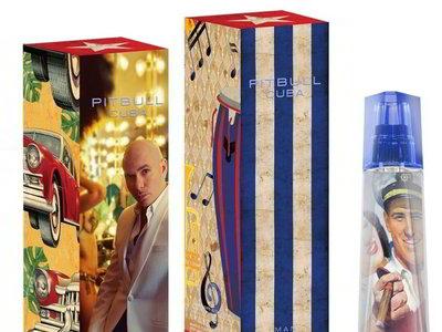 Inspirada en su natal Cuba, Pitbull presenta una fragancia con aroma a trópico