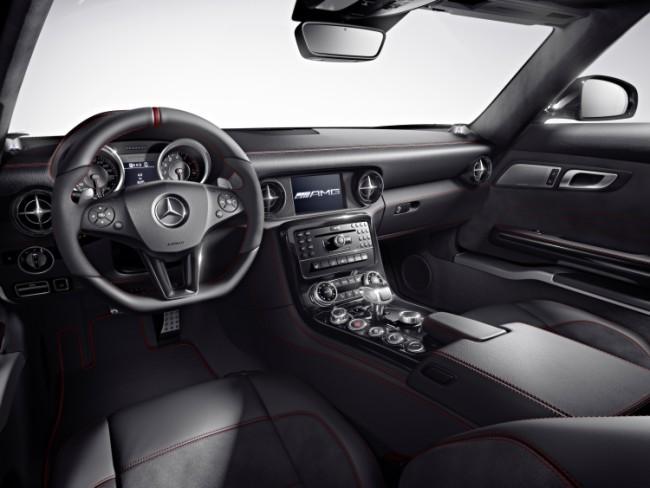 Mercedes SLS AMG GT Interior