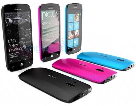 Nokia WP7 teléfonos