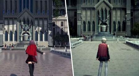 Comparación de Final Fantasy Type-0 en PSP y PS4