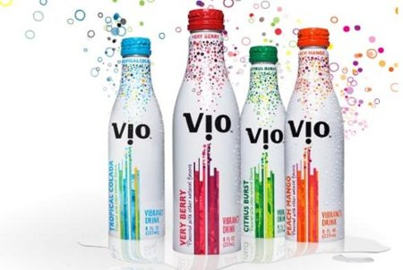 Vio, nuevo refresco lácteo y con burbujas de Coca Cola