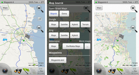 Mapas Offline Maverick