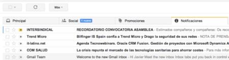 Gmail pone pestañas para gestionar mejor tu correo