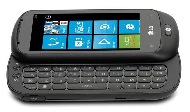 LG Optimus 7 Teclado