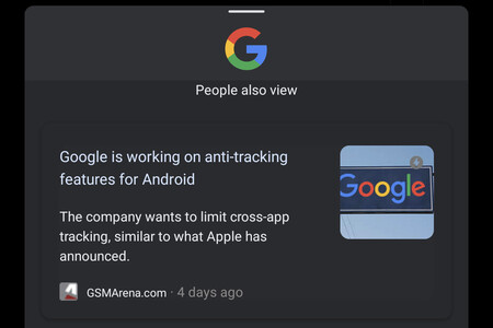 La app de Google prueba a sugerirte más artículos que ver en su navegador integrado