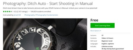 Ditch Auto - Start Shooting in Manual