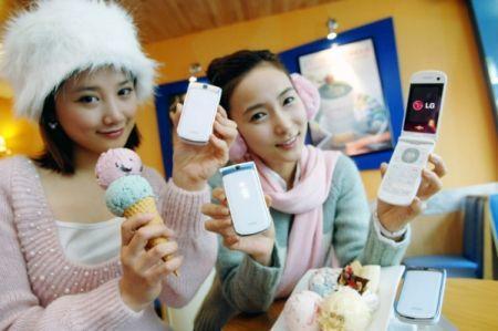 LG Icecream 2, móvil para mujeres