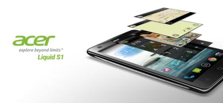 Acer Liquid S1, llega a México el nuevo phablet de Acer