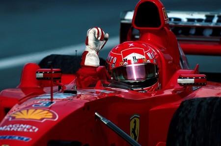Schumacher Hakkinen Suzuka F1 2000