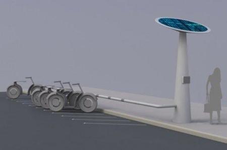 Mobec Point, primer proyecto de una estación para recargar motos eléctricas