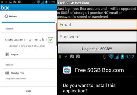 Cómo conseguir gratis 50GB en Box sin necesidad de hacer root