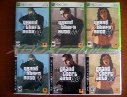 Revelado el BoxArt de GTA IV