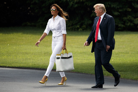 Melania Trump Bolso Burberry