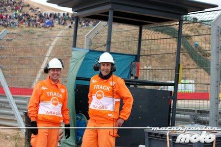 Los comisarios de pista y su imprescindible trabajo