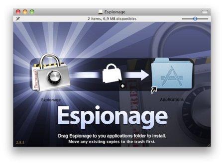 Espionage, encripta las carpetas más comprometidas de tu Mac