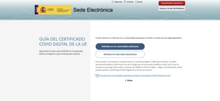 Elegir Sede Electrónica