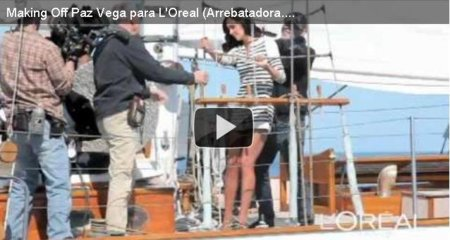Paz Vega y Loreal