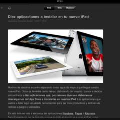 Foto 12 de 20 de la galería lectores-rss-para-el-ipad en Applesfera