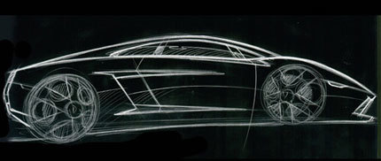 Lamborghini Gallardo LP560-4 teaser