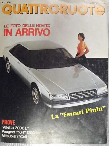 Foto de Ferrari Pinin (7/9)
