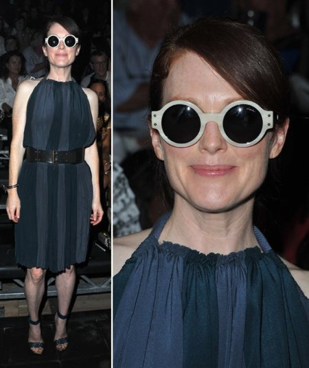 Julianne Moore Lanvin front row
