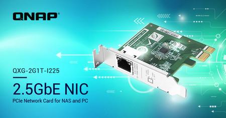 ¿Tu conexión Ethernet a 1 Gbps se te queda corta? QNAP anuncia sus nuevas tarjetas de expansión con conexiones a 2,5 Gbps